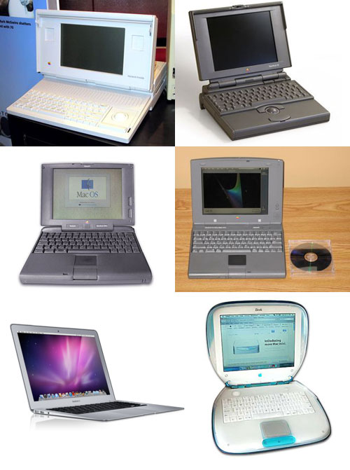 A History of the Apple Laptop
