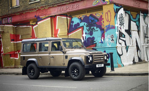 Land Rover Defender X Tech Edition. Land Rover 2011 Defender