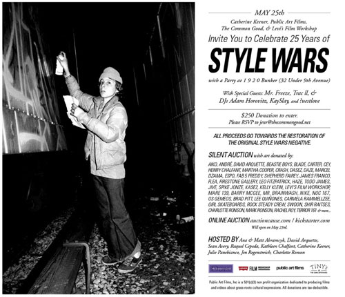 Style Wars Benefit and Silent Auction