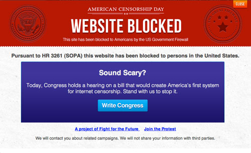 internet censorship The PROTECT IP Act Is Very Real and Very Bad — Call Now to Block It gadgetzz