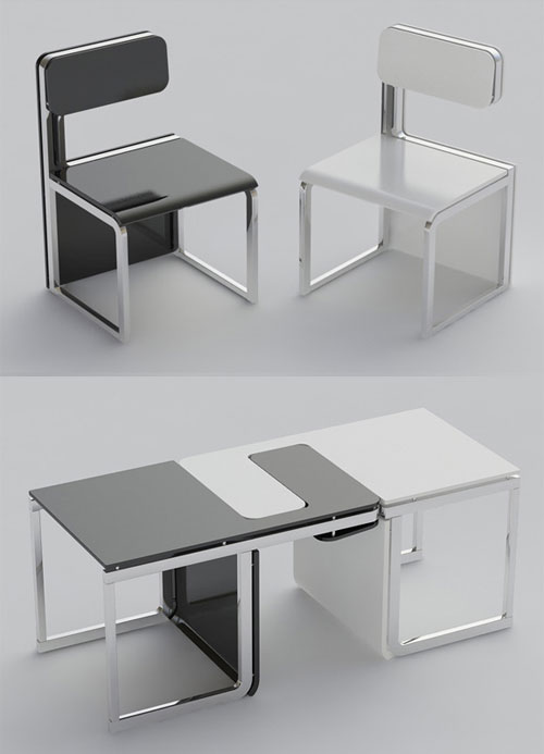 Furniture the world 39 s best ever design fashion art for Silla que se convierte en mesa