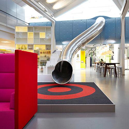 Lego S Got A Damn Slide In Their Denmark Design Office