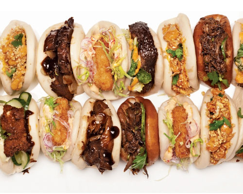 Pork Buns, Baos, and More
