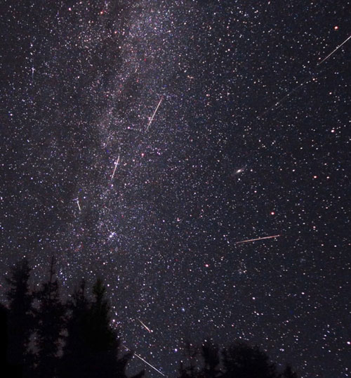 �perseids� are you seeing this� stuff amp things
