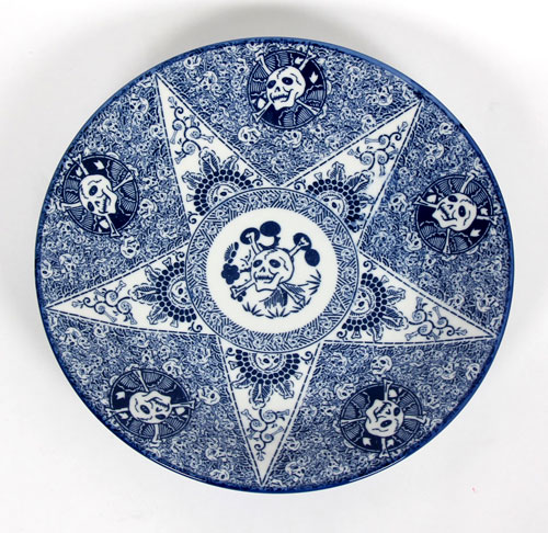 Tadanori-Yokoo-Skull-Plate