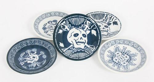 Tadanori-Yokoo-Skull-Plates