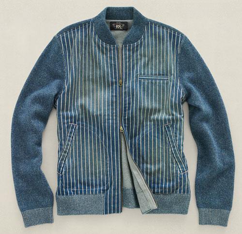 rrl-indigo-baseball-jacket