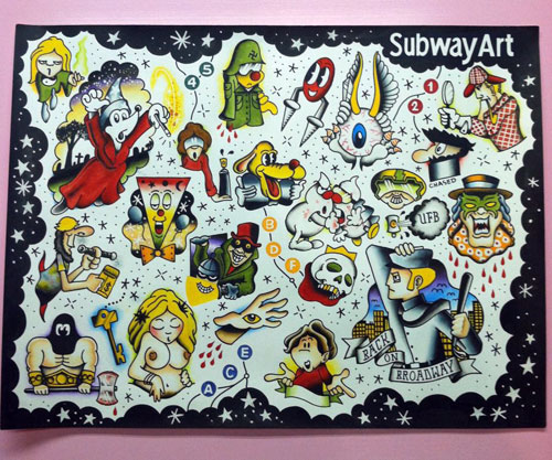 subway-art-tattoo-flash
