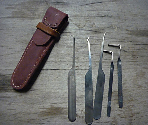 Lockpick-Tool-Set-Made-From-Bandsaw-Blades