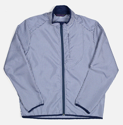 Needles-Stand-Collar-jacket-navy-gingham