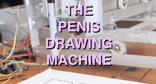 the-penis-drawing-machine
