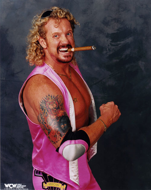 Diamond Dallas Page Riding Space Mountain BANG Diamond Dallas Page Sting