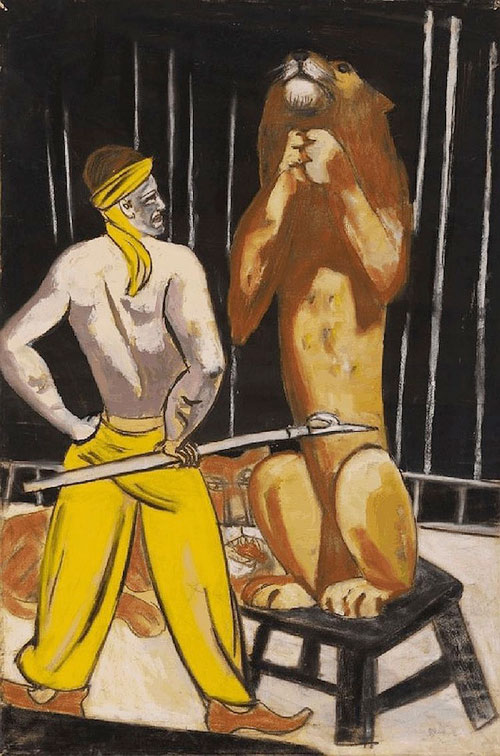 The-Lion-Tamer-by-Max-Beckmann