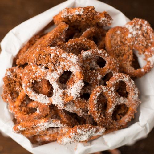 churro-pretzels