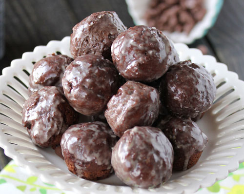 ... plain glazed chocolate glazed donut holes moist chocolate donut holes