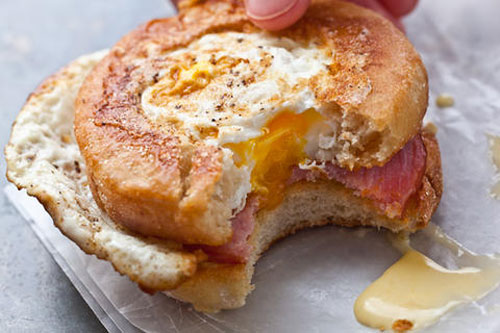 Egg-in-a-Nest-Benedict-Sandwiches