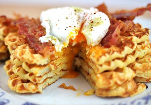 potato-waffle-cheese