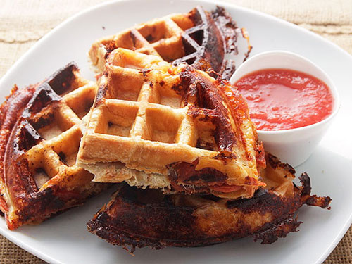puff-pastry-pizza-pepperoni-waffle