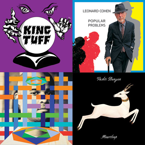 new-music-leaonard-cohen-king-tuff-homeboy-sandman-vashti-bunyan