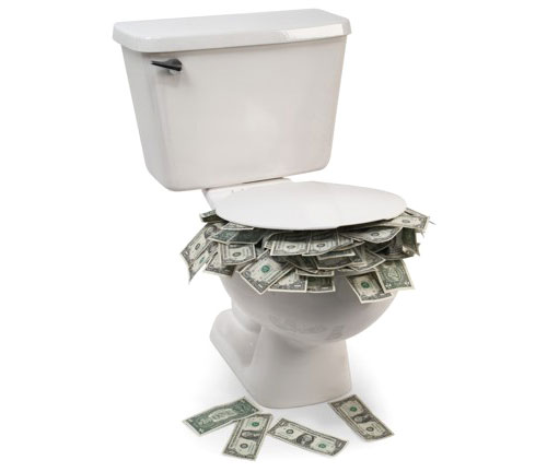 toilet-money