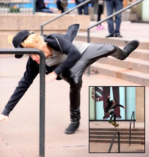 beiber-bails-skateboarding