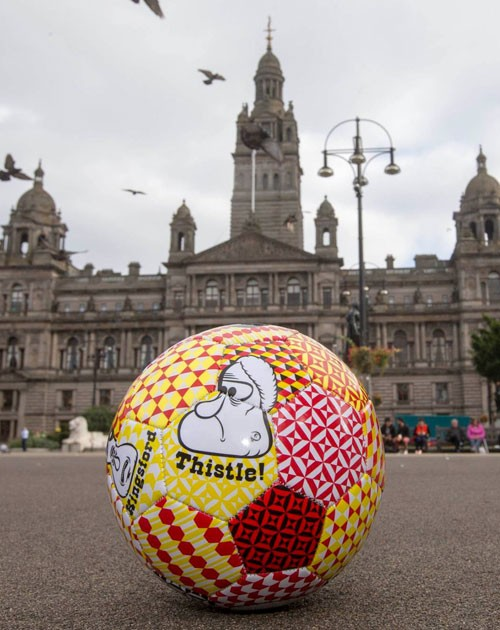barry-mcgee-partrick-thistle-soccer-ball