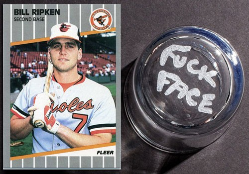 bill ripken fuck face