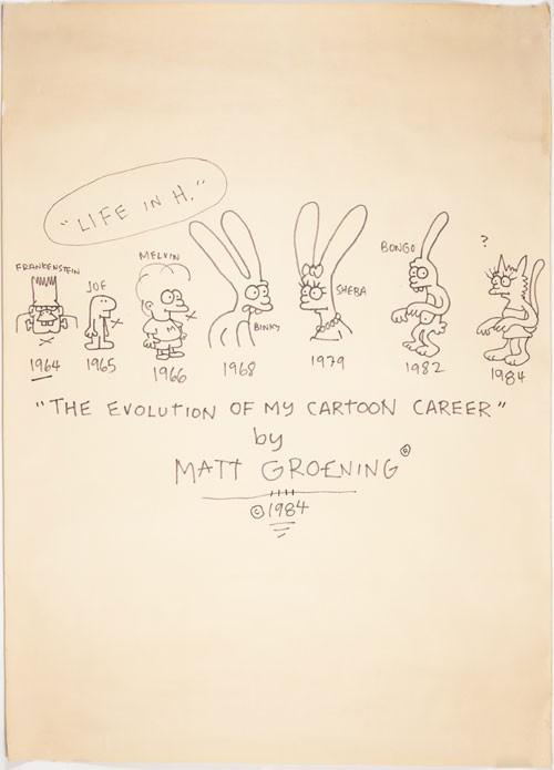 matt-groening-cartoon-career