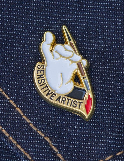 sensitive-artist-pin