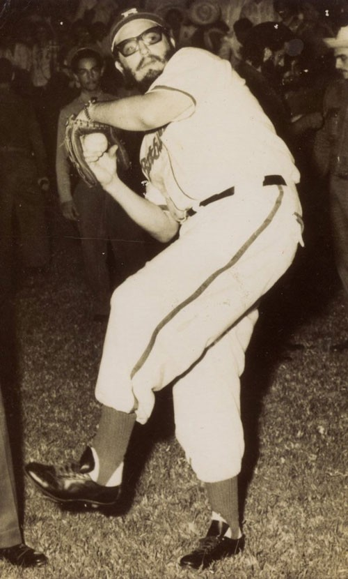 fidel-castro-baseball