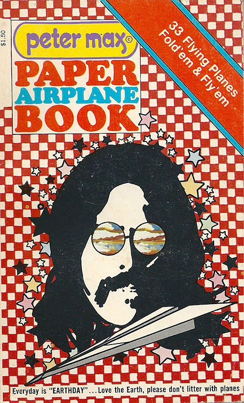 peter-max-paper-airplane-book