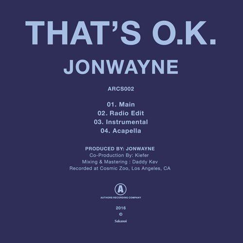 jonwayne-thats-ok