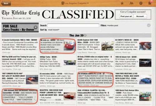 Displaying (19) Gallery Images For Newspaper Classified Ads...
