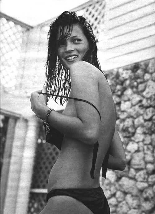 Similar Kate moss topless apologise