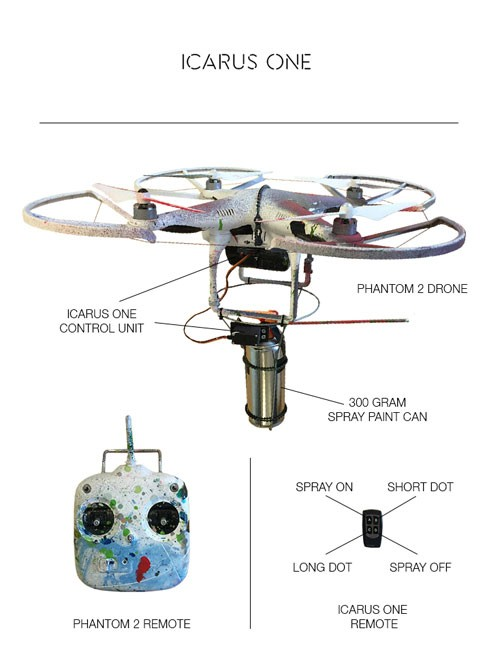 dji phantom fpv wiring diagram build your own graffiti drone #13